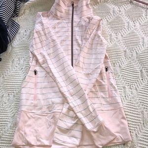 Lululemon pink and gray jacket